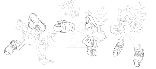 Action Poses WIP *Edit* by ThatBlue-Bolt