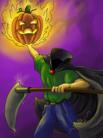 The Headless Horseman by tadamson