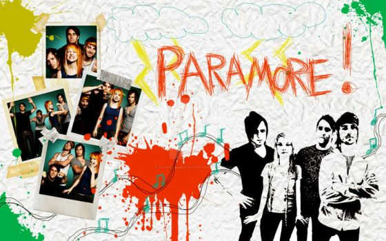 Paramore Wallpaper by FaintStarsCry