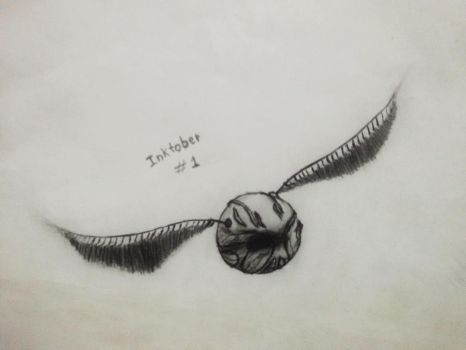 Golden Snitch - Harry Potter by AMK-Games