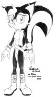 Keeno the Skunk by xsonic