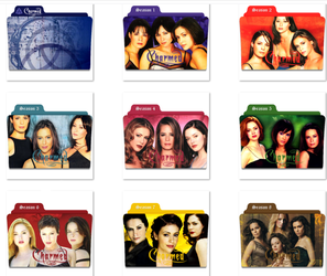 Charmed Folder Icons by nellanel