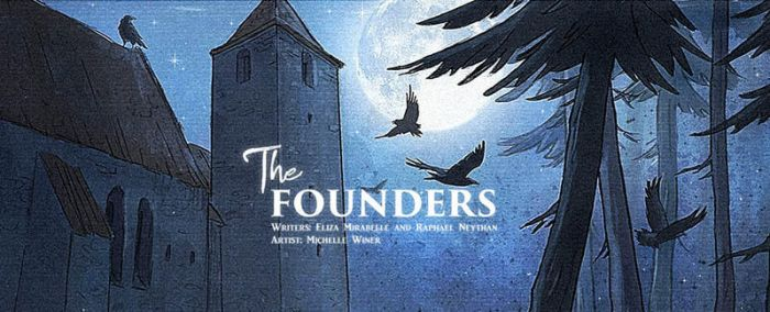 The Founders - comics by Michelle-Winer