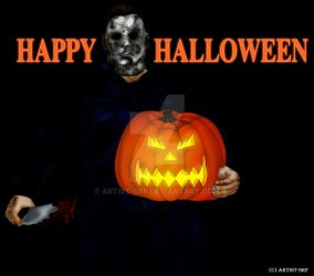 Happy Halloween from Michael Myers by ARTIST-SRF