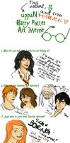 Harry Potter art meme by MioneBookworm