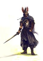 King Alaric of the Visigoths by JoelChaimHoltzman