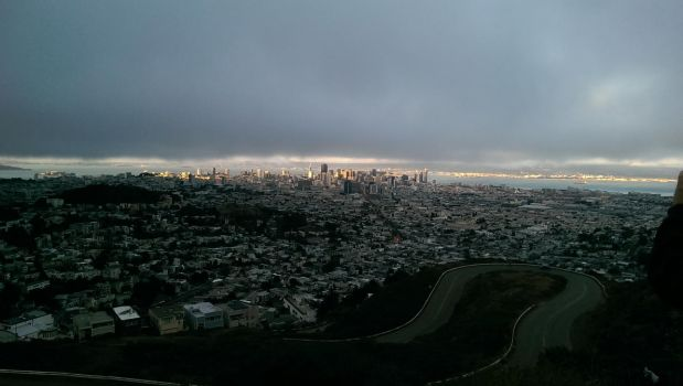 SFO from Twin Peaks by CaseyDN