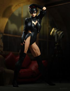 Catwoman by RawArt3d