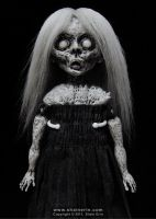 Lucy, Ghost Art Doll by shainerin
