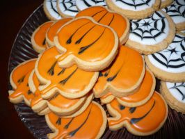 Pumpkin Sugar Cookies by ilovemylife718