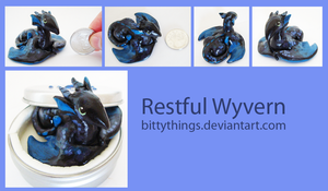 Restful Wyvern - SOLD by Bittythings