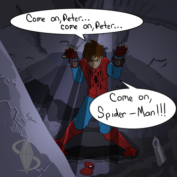 Come On Spiderman! by SapphireComics