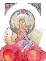 Holo and Apples by Stormslegacy
