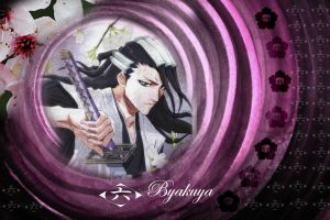 Kuchiki Byakuya Bleach by sarathecute