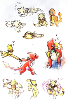 Team ACT doodles 1 by Night-Owl8