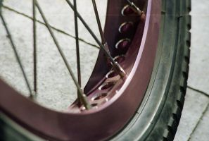 Pink my tire by thisable