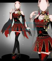 Female Outfit ADOPT 163 [Auction] [CLOSED] by GattoAdopts