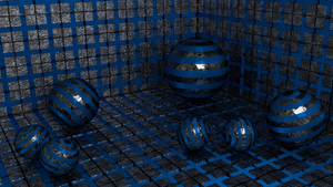 Blender Cycles Shader Generator CubesSfera by Lukazoid