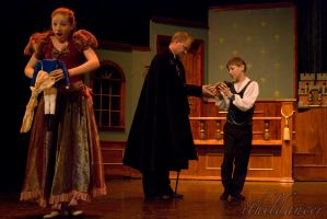 Clara, Fritz and Drosselmeyer by ithildancer