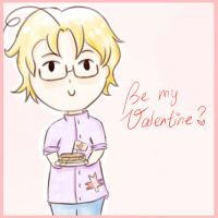 Be my Valentine? *APH-Canada* by MischievousRibbon
