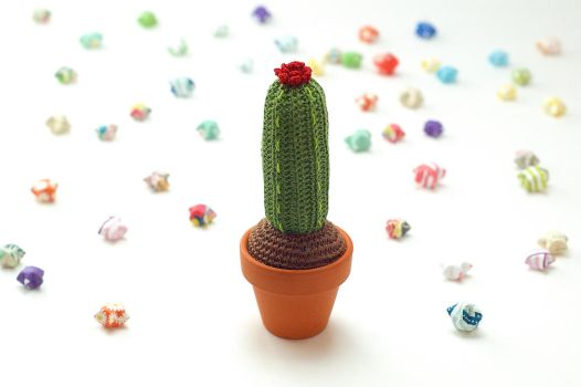 Tall Cactus by TheBittiestBaubles