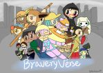 Braveryverse (2016) by MagicalTF