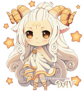 Chibi Aries by DAV-19
