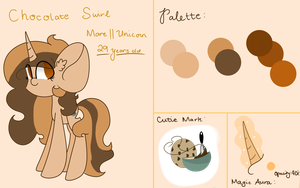 [Commission] Chocolate Swirl Reference Sheet by YsabelAlameda