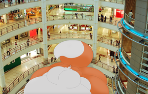 Chu In A Mall (Photomanip) by Two-Ton-Neko