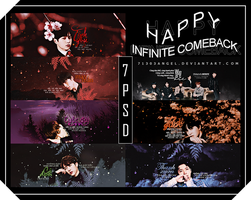 [SHARE 7 PSD] INFINITE COMEBACK WITH TOP SEED by 71303AngeL