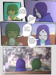 Beast Girl a Walk in the Park pt3 by Unttin7