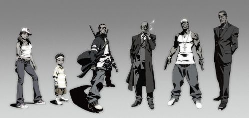 Character line up by kse332