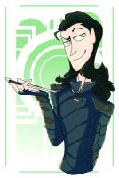 Loki Laufeyson Fanart by remingtomii