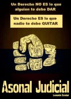 Asonal Judicial COLOMBIA by madecho
