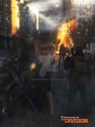 Tom Clancy's - The Division by dmorson