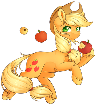Applejack by Ak4neh