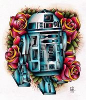 R2D2 Tattoo by FelixKelevra