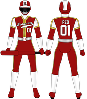 Red Leaguer/ MLB Red Ranger by Iyuuga