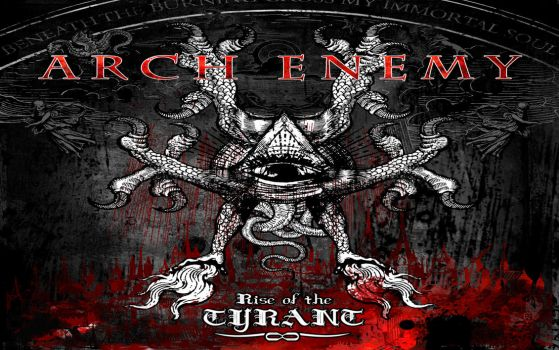 Arch enemy Rise of The Tyrant by Dragonfanatic