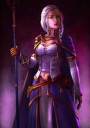 Jaina Proudmoore (MY Redesign) by Mikesw1234