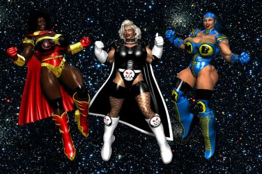 The Super Women of Realms and Void by EdgarSlam