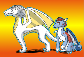 Doc Brown and Marty: Dragon Transformation by FaithSDK