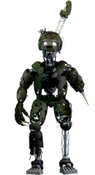 Fnaf 6 Updated Ignited Springtrap by Thunderstudent