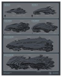 Concept Ships by mikepacker