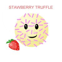 contest: strawberry truffle by conaira