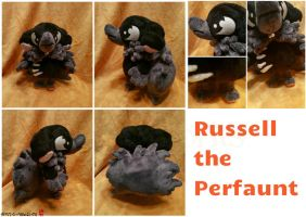Commission: Russell the Perfaunt Baby Plush by Sanguinem-Luna