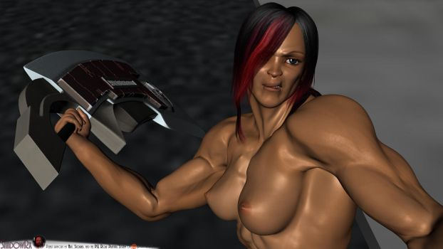 Felicia-DJ2-NakedPestControl-A42 by ShadowRx