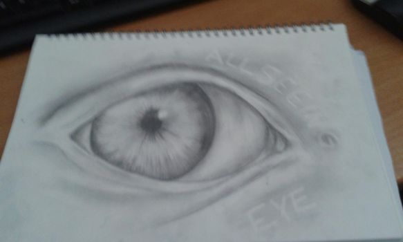 EYE DRAWING by Rennessance