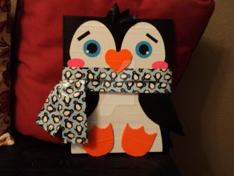 Duct Tape Penguin! by KBCreations