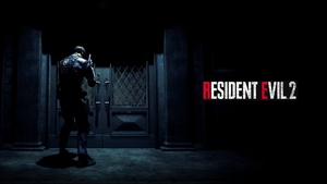 Resident Evil 2 REmake Wallpaper (Leon) #RE2 by Ember-Graphics